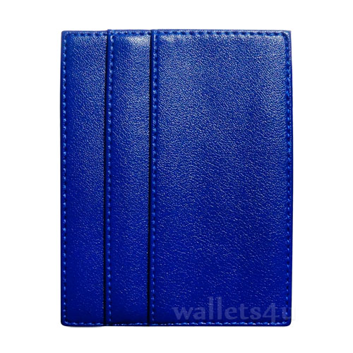 Magic Wallet, blue leather, multi card - MC0257